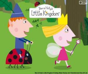 Ben, Holly and Gaston, three great friends in the little kingdom puzzle