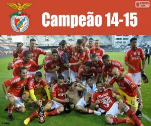 Benfica, champion  2014-2015 puzzle