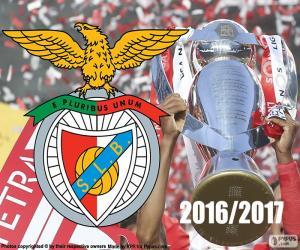 Benfica, champion 2016-2017 puzzle