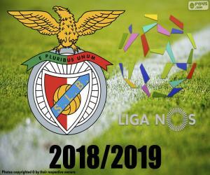 Benfica, champion 2018-2019 puzzle