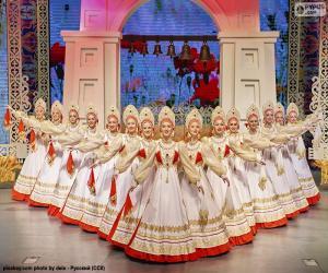 Beriozka, classical Russian dance puzzle