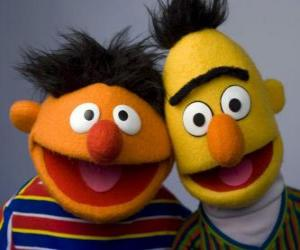 Bert and Ernie, two great friends puzzle