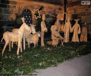 Bethlehem of straw puzzle