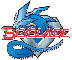 Beyblade logo puzzle