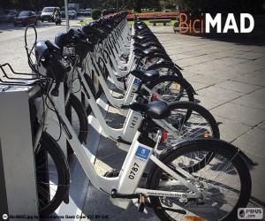 BiciMAD, Madrid puzzle