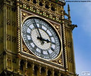Big Ben clock puzzle