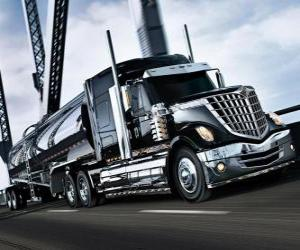 Big black truck puzzle