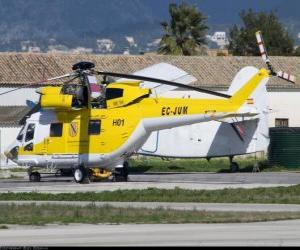 Big helicopter puzzle