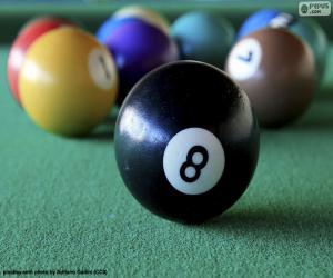Billiard balls puzzle