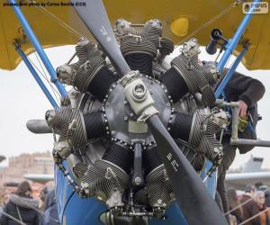 Biplane engine puzzle