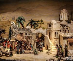 Birth Jesus Manger puzzle
