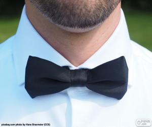 Black bow tie puzzle