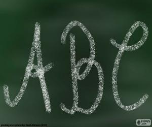 Blackboard, ABC puzzle