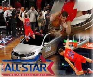 Blake Griffin is the new king of the 2011 NBA Slam Dunk puzzle