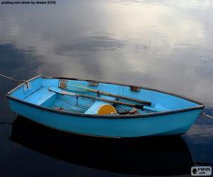 Blue boat puzzle