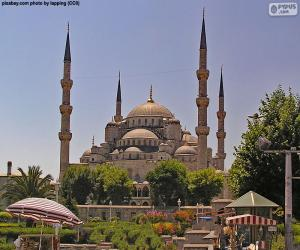 Blue Mosque, Turkey puzzle