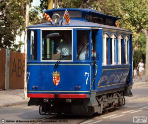 Blue Tramway, Barcelona puzzle