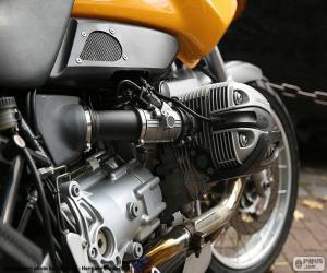 BMW boxer engine puzzle