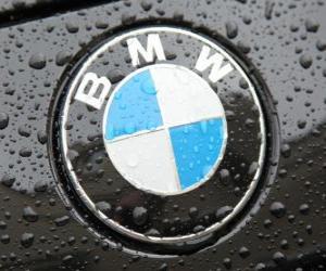 BMW logo, German car brand puzzle