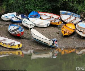 Boats on the shore puzzle