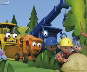 Bob the Builder and his friends puzzle