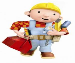 Bob the Builder with his tools puzzle