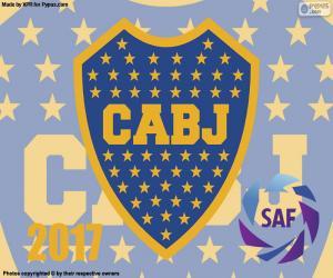 Boca Juniors, 2016-2017 champion puzzle