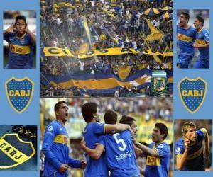 Boca Juniors puzzle
