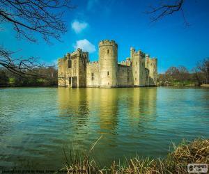 Bodiam Castle, England puzzle
