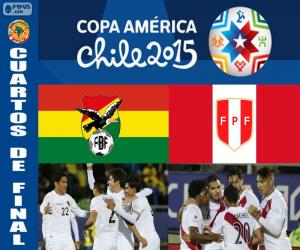 BOL - PER, Copa America 2015 puzzle
