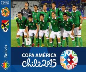Bolivia Copa America 2015 puzzle