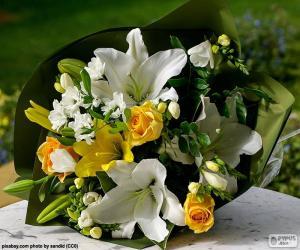 Bouquet for the bride puzzle