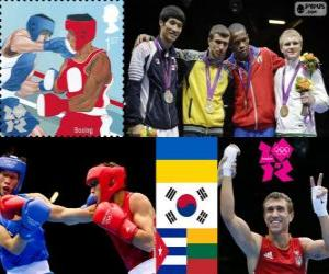 Boxing - 60kg male London 2012 puzzle
