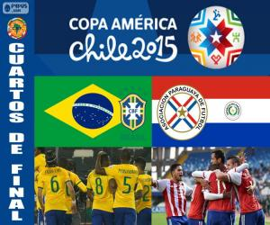 BRA - PAR, Copa America 2015 puzzle