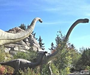 Brachiosaurus puzzle