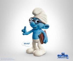 Brainy Smurf, the most intelligent smurf - The Smurfs Movie - puzzle