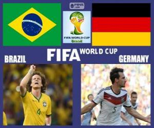 Brazil - Germany, semi-finals, Brazil 2014 puzzle