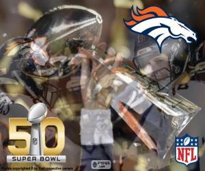 Broncos, Super Bowl 2016 Champions puzzle