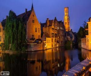 Bruges, Belgium puzzle