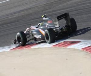 Bruno Senna - HRT - Bahrain 2010 puzzle