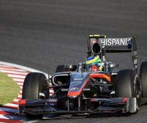 Bruno Senna - HRT - Suzuka 2010 puzzle