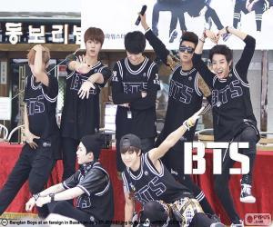 BTS, Bangtan Boys puzzle