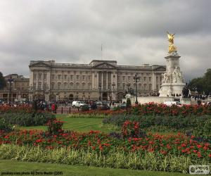 Buckingham Palace, London puzzle