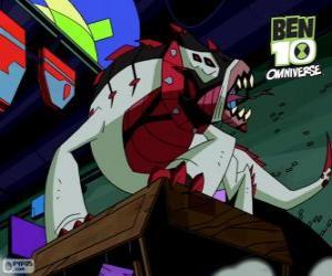Buglizard is the Nemetrix Aliens, Ben 10 Omniverse puzzle