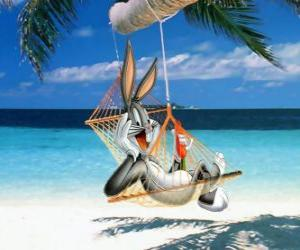 Bugs Bunny in the hammock puzzle