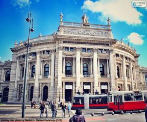 Burgtheater, Austria puzzle