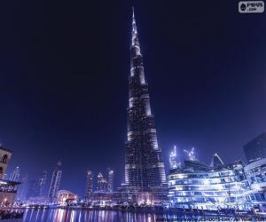 Burj Khalifa, Dubai puzzle