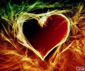 Burning Heart puzzle