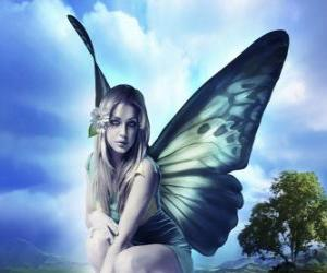 Butterfly Fairy puzzle