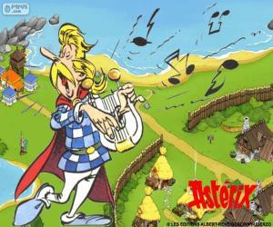 Cacofonix singing puzzle